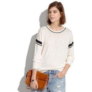 Madewell linen stripe sweater jcrew gap asos